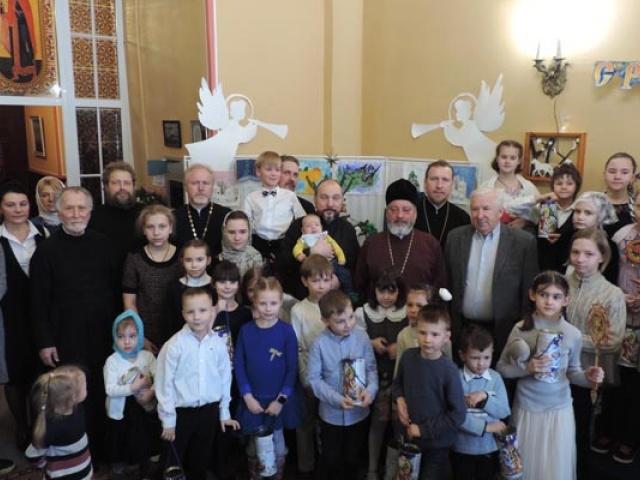 Рождественский праздник в Воскресной школе храма 2020 г.